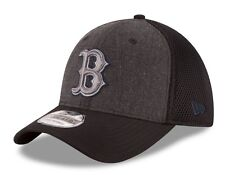 "Boston Red Sox New Era MLB 39THIRTY ""Heathered Black Neo"" Flex Fit Hat"