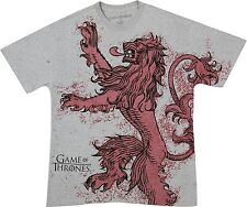 Game Of Thrones HOUSE LANNISTER LION T-Shirt NWT Licensed & Official