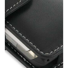 PDair Black Leather Horizontal Pouch for LG Dare VX9700