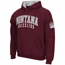 Stadium Athletic Montana Grizzlies Maroon Double Arches Pullover Hoodie