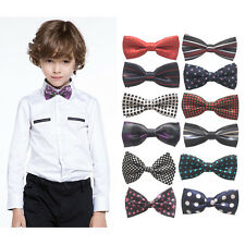 Fashion Kids Boys Toddler Infant Bowtie Pre Tied Wedding Party Bow Tie Necktie