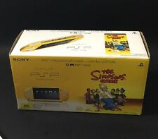 NEW Sony PSP 2000 The Simpsons Limited Edition Yellow Handheld System