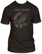 Pink Floyd - Wish You Were Here Distressed T-Shirt Black Licensed Mens Shirt New
