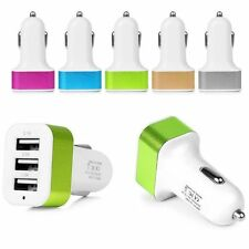 Universal Car Charger For iPhone Samsung ipod 3-Port USB Allume Cigare Adapter