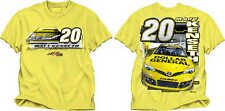 NASCAR-#20 Matt Kenseth Break Out T-Shirt ( Yellow )