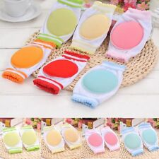 1 Pair  To Walk Circular Baby Crawling Sponge Cotton Kids Knee Pad Breathable