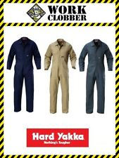 Hard Yakka Cotton Drill Coverall Y00010 NEW WITH TAGS!