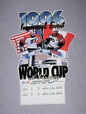 1996 World Cup of Hockey CANADA vs USA Suite Ticket Eric Lindros John LeClair