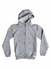 Quiksilver Keller  Boys Hoody in Light Grey Heather