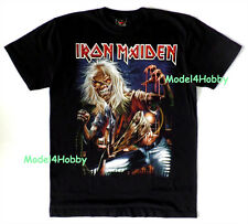 IRON MAIDEN T-Shirt Black S M L XL HEAVY METAL SKULL GHOST REAPER TATTOO BOARD