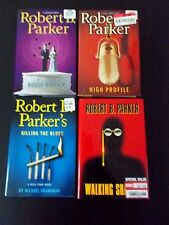 Lot of 4: Robert Parker - Killing the Blues & Walking Shadow & Rough Weather HC+