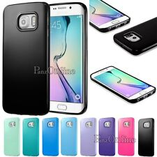 Soft Silicone Rubber Gel Case Cover TPU Skin Bumper For Samsung Galaxy S6 Edge