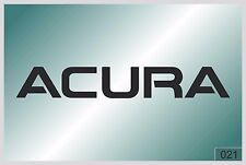 ACURA LOGO 2 - sticker on car - HIGH QUALITY - different colors - №0021