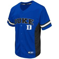 "Duke Blue Devils NCAA ""Strike Zone"" Men's Button Up Baseball Jersey"