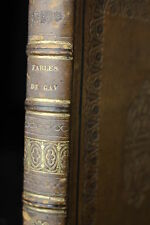 GAY Fables by John Gay in two parts to which added by Edward Moore Relié 1800