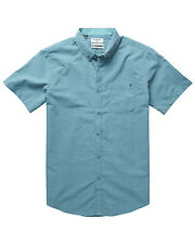 Billabong All Day Chamb  Mens Shirt in Aquatic Blue