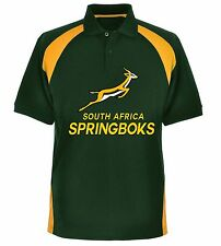 Adults South Africa Springboks Rugby Polo Shirt