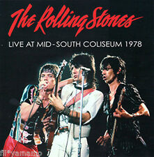 "The Rolling Stones LIVE AT MID - South Coliseum 1978 -  ""2CD"" Hound Dog Free New"