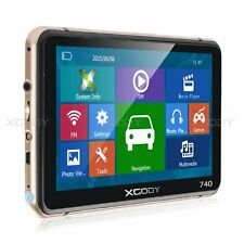 "XGODY 7"" Truck Car GPS Navigation Lorry Navigator SAT NAV Lifetime Maps POI 8GB"