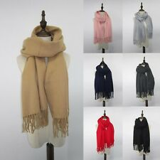 Women Lady Girl Soft Long Carriage Soild Neck Scarf Large Wrap Shawl Scarves NEW