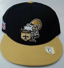 New! NFL New Orleans Saints  Embroidered Fitted Cap
