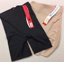 SPANX Trust Your Thinstincts Reg-Waisted Mid-Thigh XS Nude or Black New w/Tags