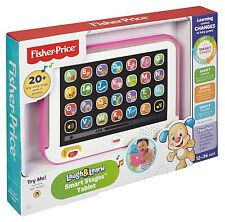 Fisher Price Smart Stages Tablet GREY PINK BLUE , FREE EXPRESS SHIPPING FROM UK