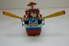 Tin Toy - ROWBOAT Wind Up Clockwork Collectible