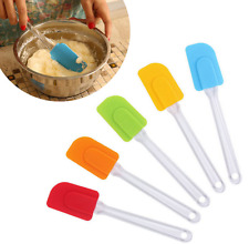 Cooking Baking Silicone Spatula Kitchen Utensil Spoon Mixing Brush Cake Butter
