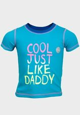 Baby Boys T-Shirt (Cool Just Like Daddy)