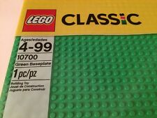 Genuine LEGO Brand BASE PLATE #10700 Green Baseplate Building  32x32 Studs 10""
