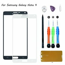 For Samsung Galaxy Note 4 ATT Front Outer Screen Glass Lens Replacement Tool Kit