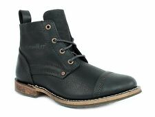"""Caterpillar  MORRISON 6"""" Mens Casual Work  Black Leather  Boots"""