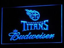 Tennessee Titans Neon sign Budweiser Beer Bar Pub LED light Sign wall decor