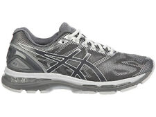 NEW MENS ASICS GEL-NIMBUS 19 RUNNING SHOES TRAINERS CARBON / WHITE / SI 4E-XWIDE