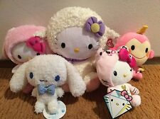 Brand New with Tags Sanrio Hello Kitty and Friends and Ty Plush