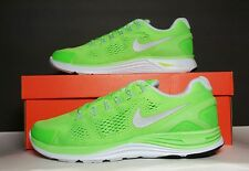 NIKE MEN'S LUNARGLIDE+ 4 NEW/BOX MULTIPLE SIZES ELECTRIC GREEN  524977 304