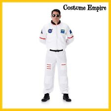 Mens Astronaut Adult NASA Space Suit Apollo 13 Halloween Fancy Dress Costume