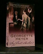 Why Shoot a butler?, Georgette Heyer, Used; Good Book