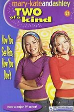Now You See Him, Now You Dont (Two Of A Kind, Book 21) (Two of a Kind Diaries),