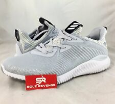 New adidas AlphaBOUNCE Running Shoes White Gray Pure Energy Ultra Boost BW0541