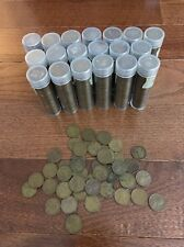 1000 Unsearched Wheat Pennies $10 Face Value Copper Penny Lincoln Cent
