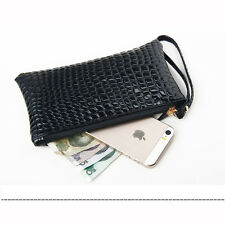 8Color Handbag Purse Fashion Lady Women Zipper Bag Long Faux Leather Wallet Gift