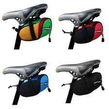 New Cycling Bicycle Tail Rear Bag Quick Release Bicycle Saddle Seat Bag #W