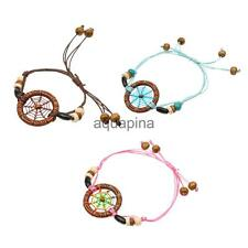 Vintage Ethnic Indian Handmade Art Dream Catcher Lucky Charm Bracelet Chain Gift
