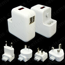 10W Wall Power Charger 2 Port USB Adapter for iPhone 6 7 Plus iPad Air Mini iPod
