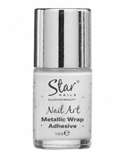 Star nails metallic wrap adhesive 14ml & Metallic wrap sealer 14ml