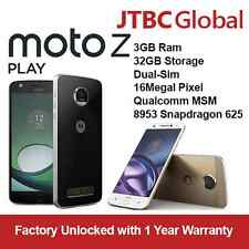 New Motorola Z Play 5.5 inch 16MP 3GB RAM 32GB DUAL SIM Phone Factory Unlocked