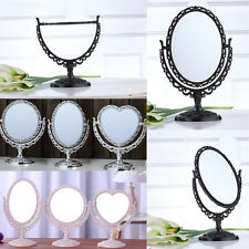 OVAL/ROUND/HEART NEW VANITY MAKE UP COSMETIC TABLE BATHROOM MIRROR ON FOOT STAND