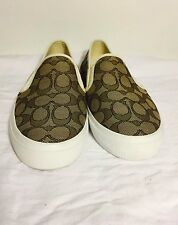 Coach  Signature logo empire and upper slip on chrissy Fashion Sneakers